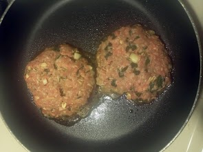 You can call them spinach oatmeal burgers.