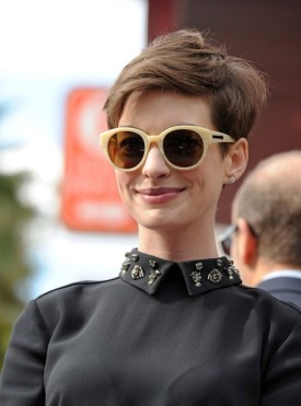 Anne Hathaway. As cute as she wants to be.